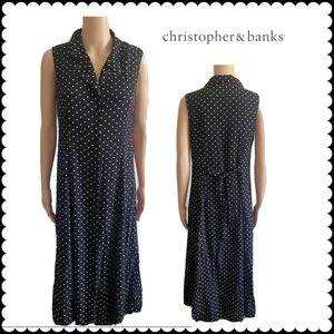 Christopher & Banks Y2K Vintage  Polka Dot Dress